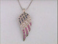 Miscellaneous, USA Ruby, Diamond & Sapphire Necklace. Benefiting Helping aHero. ...
