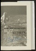 "Miscellaneous Collectibles:General, Buzz Aldrin Signed ""Magnificent Desolation"" Signed Hardcover Book...."