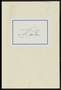 "Miscellaneous Collectibles:General, Jimmy Carter Signed Hardcover ""Keeping Faith"" Book...."