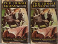 Books:Literature Pre-1900, Rudyard Kipling. The Jungle Books. Doubleday & Company, 1948. Two octavo volumes. Illustrated by Aldren Watson. Publ... (Total: 2 Items)