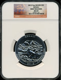 Modern Bullion Coins, 2012 25C Denali Five-Ounce Silver, First Releases MS69 NGC. NGCCensus: (0/0). PCGS Population (0/0)....