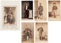 Photography:CDVs, Group of Six Exceptionally Nice Cartes De Visite of Civil War Federal Officers... (Total: 6 Items)