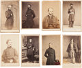 Photography:CDVs, Nice Group of Eight Cartes de Visite of Union Generals,... (Total: 8 Items)