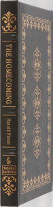 Books:Fiction, Harold Pinter. SIGNED. The Homecoming. Easton Press, 2000.Signed by the author on a special limitation page and...