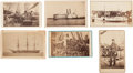 Photography:CDVs, Group of Six U. S. Navy-related Civil War Cartes de Visite,... (Total: 6 Items)