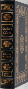 Books:Fiction, William Styron. SIGNED. Sophie's Choice. Easton Press, 1999.Signed by the author on a special limitation page a...