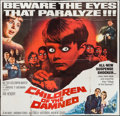 "Movie Posters:Science Fiction, Children of the Damned (MGM, 1963). Six Sheet (79"" X 79.5"").Science Fiction.. ..."