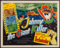 "Movie Posters:Animation, Johnny the Giant Killer (Lippert, 1953). Half Sheet (22"" X 28""). Animation.. ..."