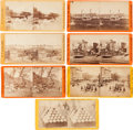 Photography:Stereo Cards, Group of Seven Civil War Stereoviews,... (Total: 7 Items)