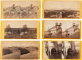 Photography:Stereo Cards, Group of Six Yellow-mount E. & H. T. Anthony Civil War Stereoviews.... (Total: 6 Items)