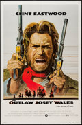 """Movie Posters:Western, The Outlaw Josey Wales (Warner Brothers, 1976). One Sheet (27"""" X41""""). Western.. ..."""