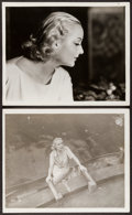 "Movie Posters:Drama, Carole Lombard in White Woman (Paramount, 1933). Photos (2) (8"" X10""). Drama.. ... (Total: 2 Items)"
