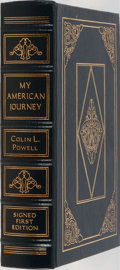 Books:Biography & Memoir, Colin L. Powell. SIGNED/LIMITED. My American Journey. EastonPress, 1995. Limited to 3500 hand-numbered copies s...