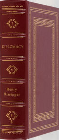 Books:Americana & American History, Henry Kissinger. SIGNED/LIMITED. Diplomacy. Easton Press,1994. Limited to 2500 hand-numbered copies signed by t...