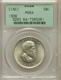 Commemorative Silver: , 1936 50C Cincinnati MS64 PCGS. PCGS Population (631/585). NGCCensus: (392/323). Mintage: 5,005. Numismedia Wsl. Price for ...