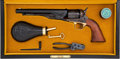 Handguns:Muzzle loading, Boxed and Cased Colt Black Powder Series Model 1860 Army PercussionRevolver with Accessories....