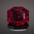 Gems:Faceted, RARE GEMSTONE: CUPRITE - 93.6 CT.. Emke Mine, Ongangja, Seeis,Khomas Region, Namibia. ...