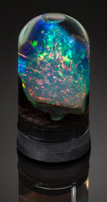 Minerals:Small Cabinet, PRECIOUS OPAL with IMPORTANT HISTORIC PROVENANCE. Virgin Valley, Humboldt County, Nevada, USA. ...