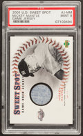 Baseball Cards:Singles (1970-Now), 2001 Upper Deck Sweet Spot Game Jersey Mickey Mantle #J-MM PSA Mint 9....