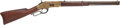 Long Guns:Lever Action, Rare Engraved Winchester Model 1866 Lever Action Saddle Ring Carbine. ...