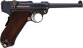 Handguns:Semiautomatic Pistol, Swiss Early Model 1900 DWM Police and Military Luger Semi-Automatic Pistol....