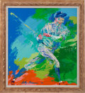 Baseball Collectibles:Others, 1973 Babe Ruth Original Painting by LeRoy Neiman....