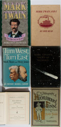Books:Americana & American History, [Mark Twain]. Lot of Six Books About Mark Twain or His Writing.Including: John K. Potter. Samuel L. Clemens. First ...