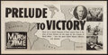 """Movie Posters:Documentary, The March of Time (20th Century Fox, 1942). Poster (14"""" X 25"""")Volume 9 Number 4 -- """"Africa-Prelude to Victory."""" Documentary..."""