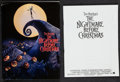 """Movie Posters:Animation, The Nightmare Before Christmas (Touchstone, 1993). Presskit w/ Production Notes (60 Pages, 8.5"""" X 11"""") & Photos (9) (8"""" X 1..."""