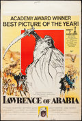 "Movie Posters:Academy Award Winners, Lawrence of Arabia (Columbia, 1963). Poster (40"" X 60"") Academy Awards Style. Academy Award Winners.. ..."