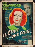 "Movie Posters:Drama, A Woman's Face (MGM, 1948). First Post-War Release French Grande(46"" X 62.5""). Drama.. ..."