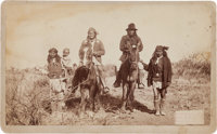 Geronimo and Natches: An Important Large Photo by C.S. Fly, Famous Tombstone Photographer