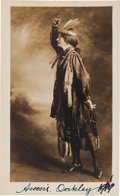 Autographs:Celebrities, Annie Oakley: Signed Photograph....