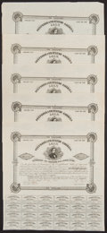 Confederate Notes:Group Lots, Ball 106 $1000 1861 Bond Five Examples Very Fine or Better.. ...(Total: 5 items)