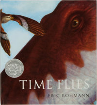 Eric Rohmann. INSCRIBED. Time Flies. Crown Publishers, 1994. Third edition. Inscribe