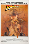 "Movie Posters:Adventure, Raiders of the Lost Ark (Paramount, 1981). Poster (40"" X 60"").Adventure.. ..."