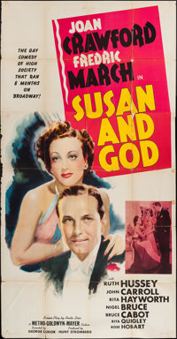 "Susan and God (MGM, 1940). Three Sheet (41"" X 79"") Style B. Comedy"