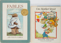 Arnold and Anita Lobel. Two INSCRIBED Children's Books including: Fables. Harper & Row, 1980.<
