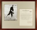 Baseball Collectibles:Others, 1936 Dutch Zwilling Signed Contract....