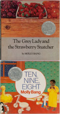 Books:Children's Books, Molly Bang. Two INSCRIBED Caldecott Honored Books including: TheGrey Lady and the Strawberry Snatcher. Four Wind Pr... (Total:2 Items)