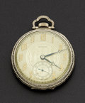Timepieces:Pocket (post 1900), Waltham 17 Jewel 14k Gold Pocket Watch. ...
