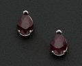 Estate Jewelry:Earrings, Natural Ruby & Gold Earrings. ...