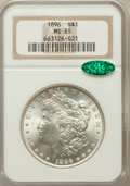Morgan Dollars: , 1896 $1 MS65 NGC. CAC. NGC Census: (4508/702). PCGS Population(3619/737). Mintage: 9,976,762. Numismedia Wsl. Price for pr...