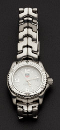 """Timepieces:Wristwatch, Tag Heuer Lady's Steel """"Professional"""" WT 1314. ..."""