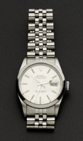 Timepieces:Wristwatch, Rolex Ref. 16000 Gent's Steel Oyster Perpetual Datejust, circa 1987. ...