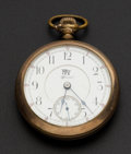 Timepieces:Pocket (post 1900), Illinois Special For Railway Service 17 Jewel Pocket Watch. ...