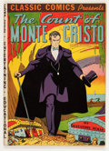 Golden Age (1938-1955):Classics Illustrated, Classic Comics #3 The Count of Monte Cristo HRN 10 (Gilberton,1942) Condition: VF....
