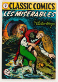 Golden Age (1938-1955):Classics Illustrated, Classic Comics #9 Les Miserables HRN 18 (Gilberton, 1944) Condition: FN....