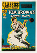 Golden Age (1938-1955):Classics Illustrated, Classics Illustrated #45 Tom Brown's School Days - Original Edition (Gilberton, 1948) Condition: FN/VF....