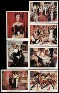 """The Merry Widow (MGM, 1952). Deluxe Lobby Cards (7) (11"""" X 14""""). Musical. ... (Total: 7 Items)"""
